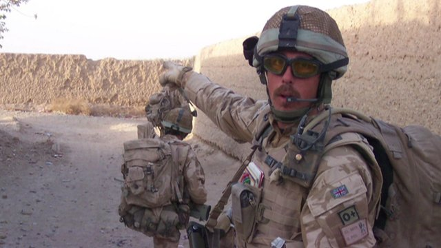 Former soldier Mark Clyde