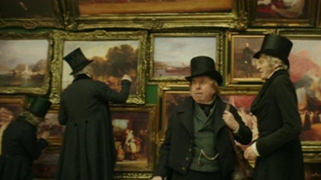 Timothy Spall as Mr Turner