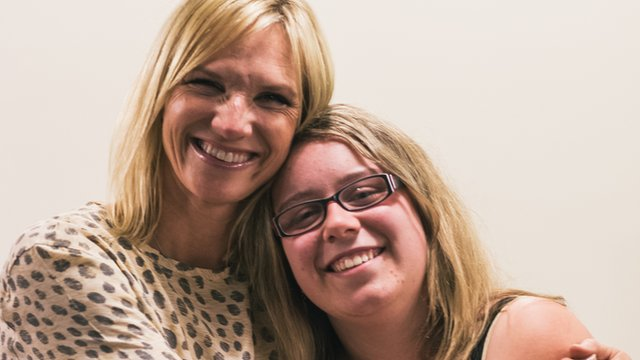 Zoe Diprose and Jo Whiley