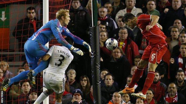 Liverpool 2-1 Swansea