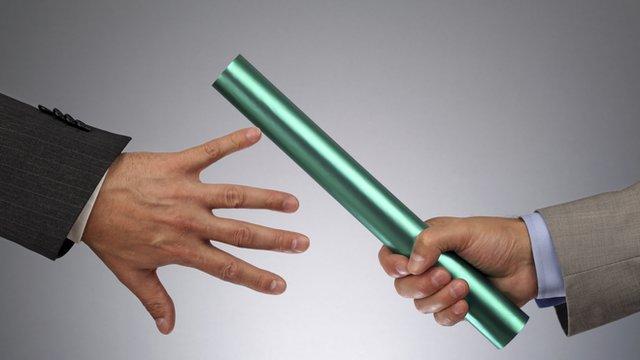 Passing on the baton