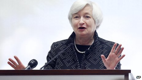 Federal Reserve Chairman, Janet Yellen