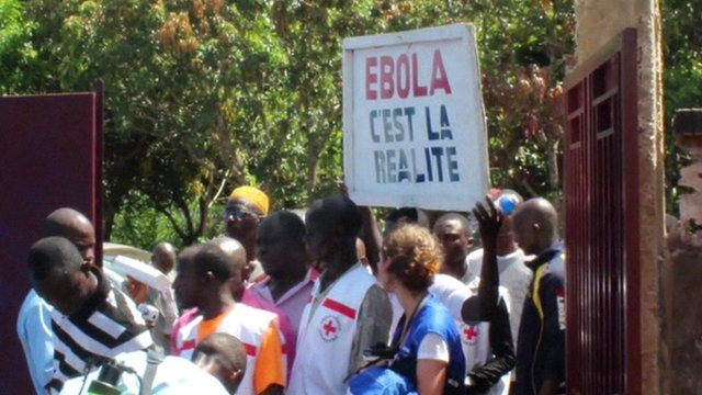 Health workers in Guinea