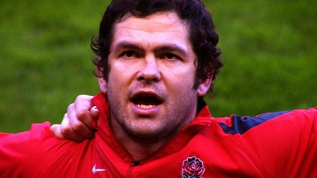 Former England rugby union international Andy Farrell
