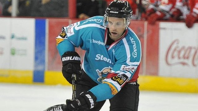 Evan Cheverie scored in Tuesday's win over Coventry Blaze