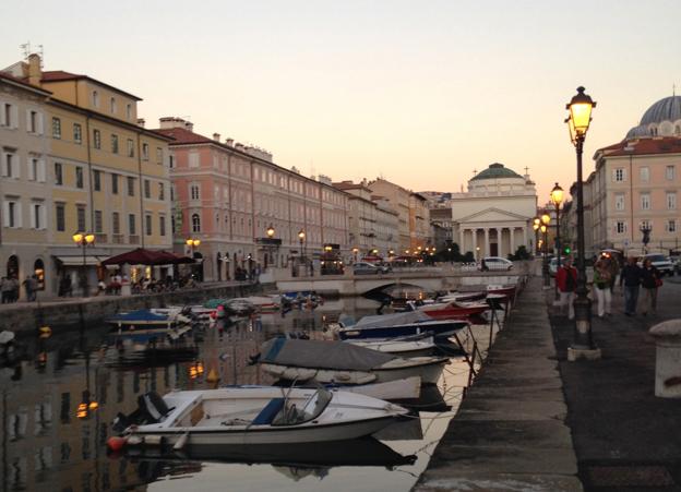 The centre of Trieste
