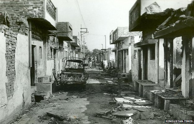 Trilokpuri 1984 riots (file picture)