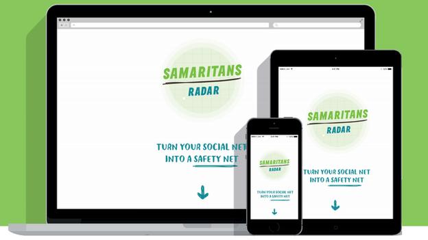 The Samaritans Radar app