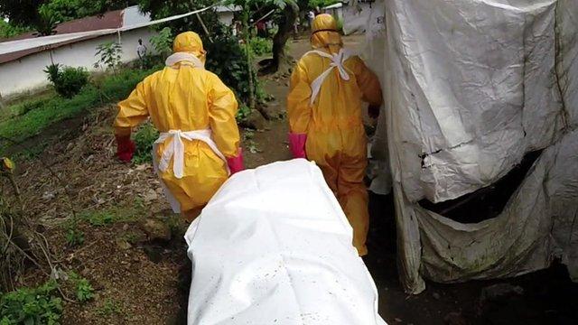 Body collectors fetch Ebola victims n Sierra Leone
