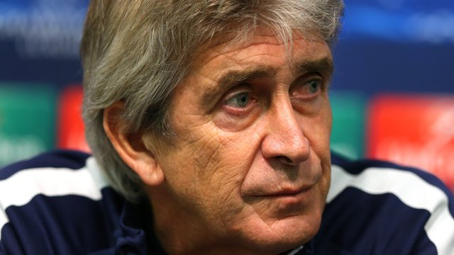 Pellergrini baffled by Manchester City's Champions League form