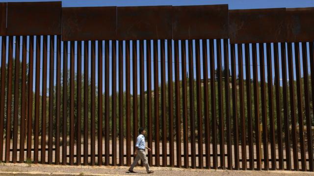USA/Mexico Border in Nogales, Mexico