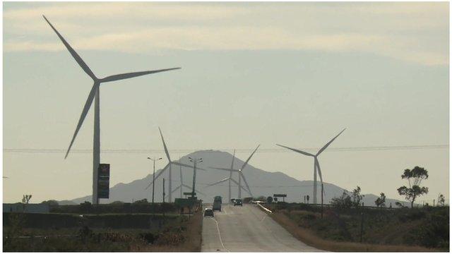 South Africa wind farm