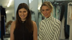Bridget Yorston and Becky Cooper, Australian fashion designers