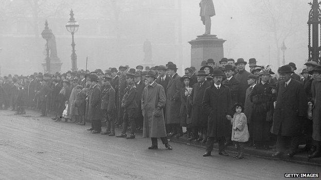 Anti-conscription protest in 1916