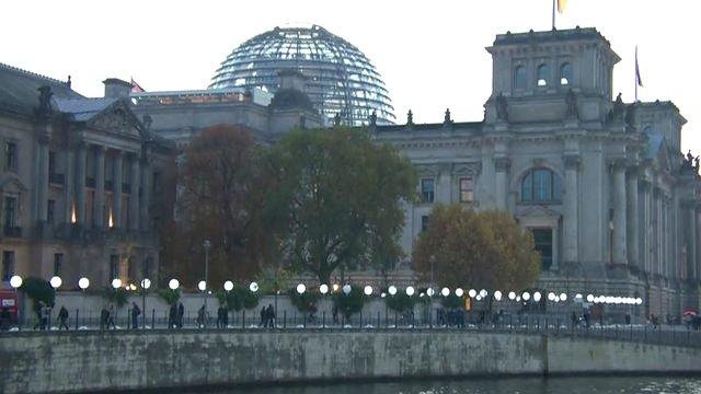 Berlin light wall