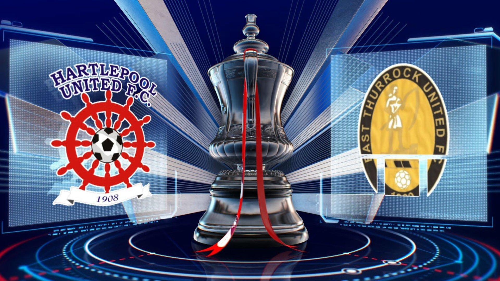 Hartlepool v East Thurrock United