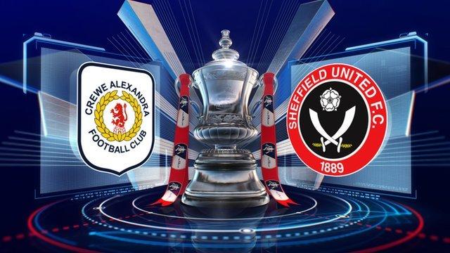 Crewe Alexandra v Sheffield United