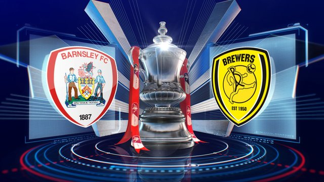 FA Cup: Barnsley 5-0 Burton highlights
