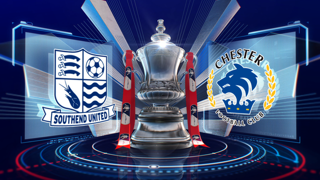 FA Cup: Southend United 1-2 Chester highlights