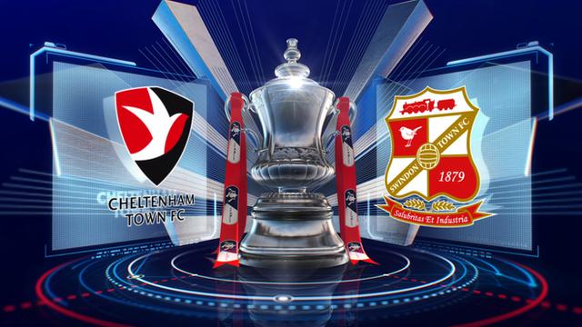 Highlights: Cheltenham 5-0 Swindon