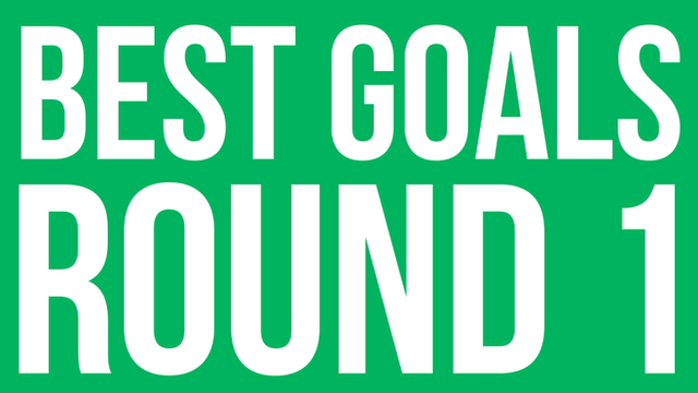 Watch a selection of the best goals from Saturday's FA Cup first round