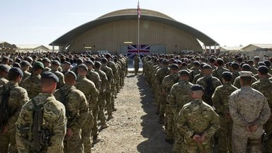 Remembrance Service at Kandahar Air Base in Afghanistan