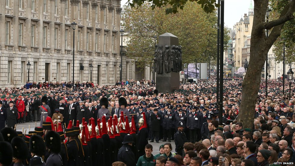 General view of the ceremony