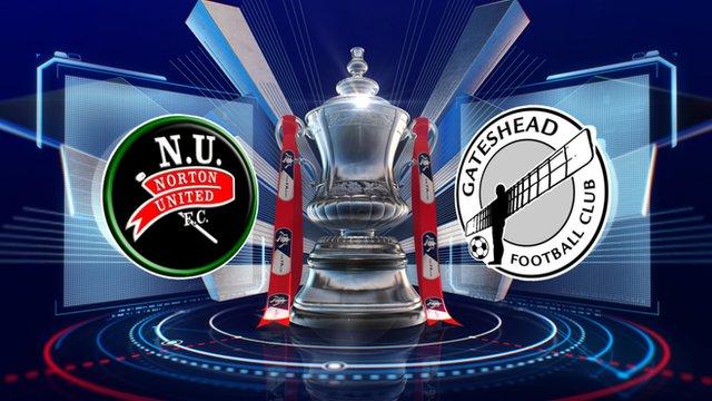 Norton United 0-4 Gateshead highlights