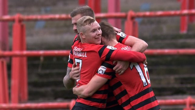 FA Cup: Wrexham 3-0 Woking first-half goals