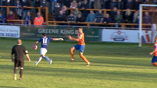 Chesterfield go 4-0 up against Braintree