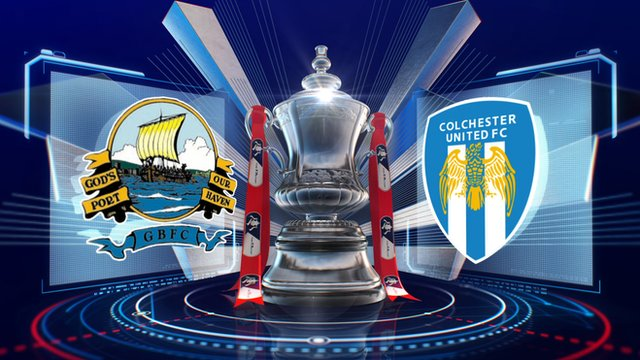 FA Cup: Gosport 3-6 Colchester highlights