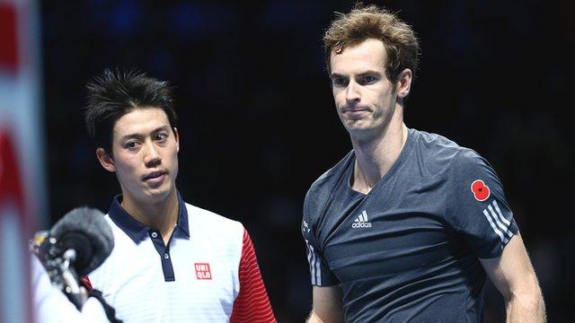 Andy Murray beaten by Kei Nishikori