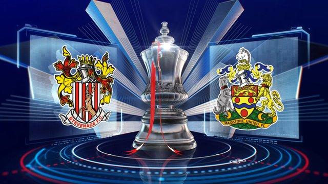 FA Cup: Stevenage 0-0 Maidstone United highlights