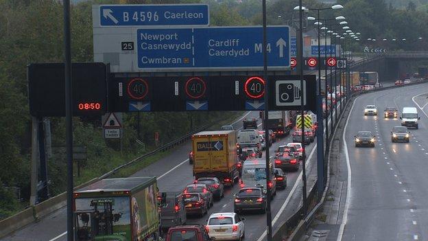 M4 traffic
