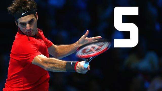 Roger Federer beat Kei Nishikori in straight sets