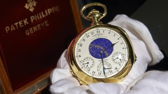 """""""The Henry Graves Supercomplication"""" watch"""