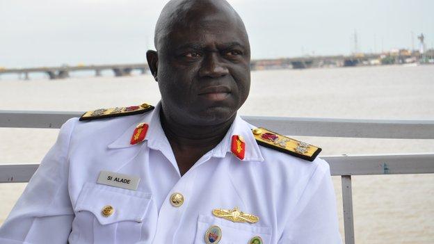 Rear Admiral Samuel Alade