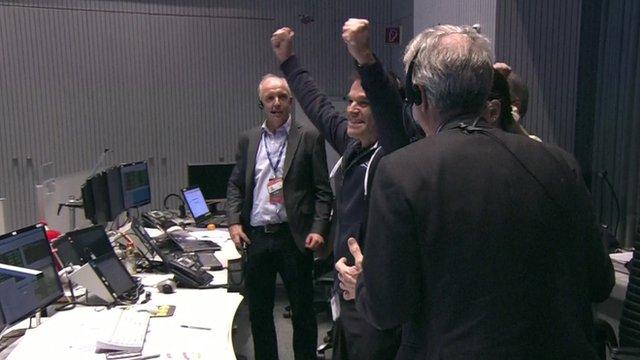 ESA scientists