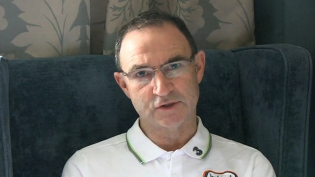 Ireland manager Martin O'Neill statement on Roy Keane incident