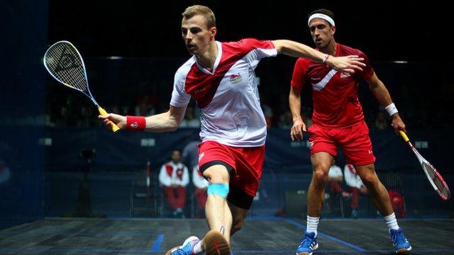 Three-time world squash champion Nick Matthew