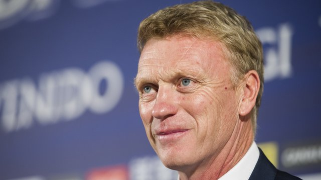 Real Sociedad manager David Moyes