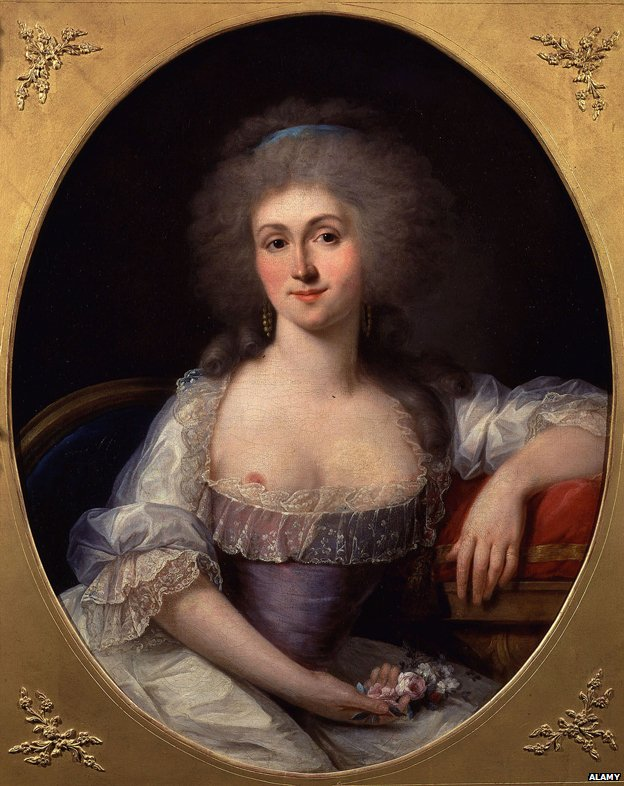 Marie Therese Louise di Savoia Carignano, Princesse de LAMBALLE, 1749-92 French, friend and favourite of Queen Marie Antoinette