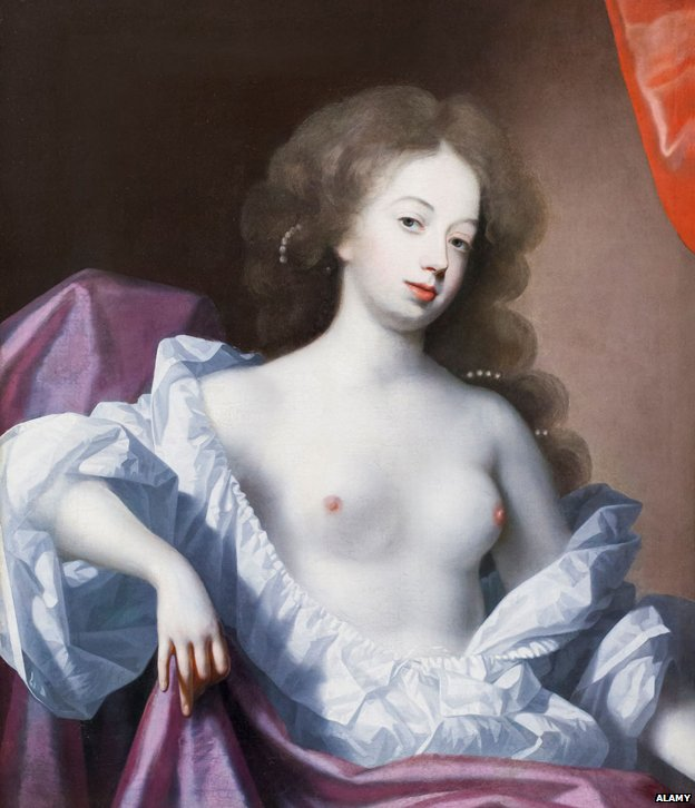 Portrait of Nell Gwyn, attributed to Simon Verelst