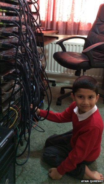 Ayan Qureshi is the youngest computer specialist in the world