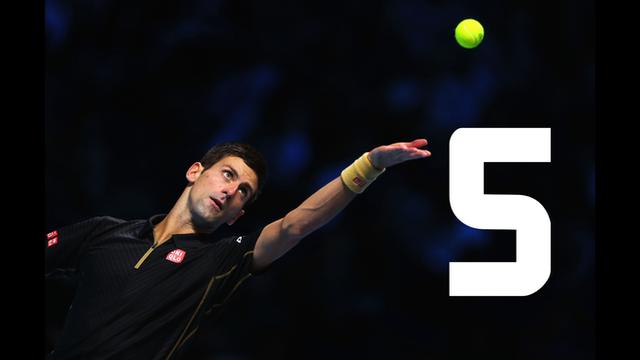 Novak Djokovic beat Tomas Berdych 6-2 6-2