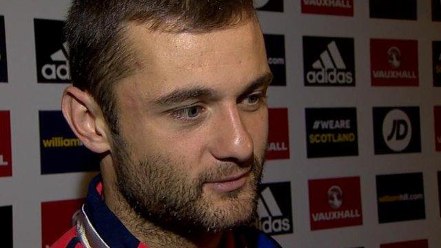 Interview - Scotland goalscorer Sean Maloney