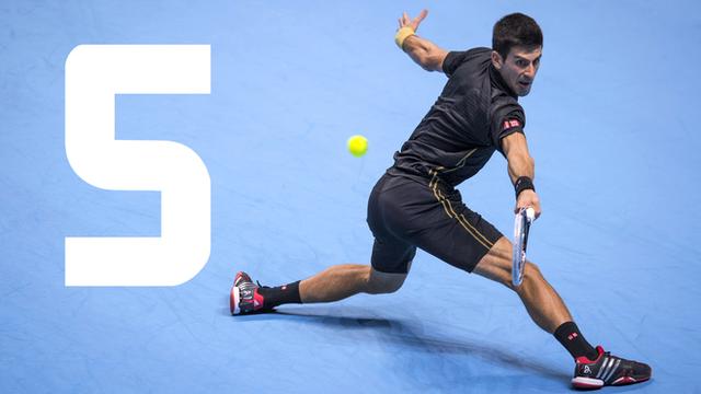 Novak Djokovic beat Kei Nishikori 6-1 3-6 6-0