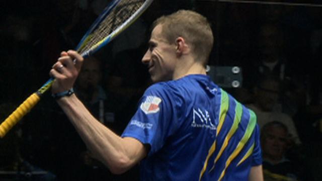 Britain's Nick Matthew wins World Championship opener