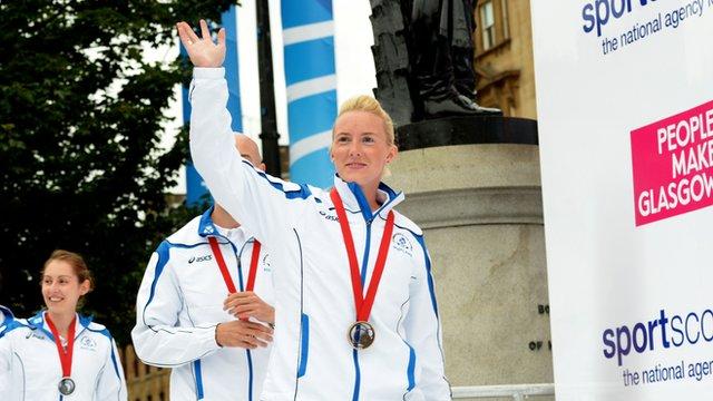 Scottish badminton player Imogen Bankier