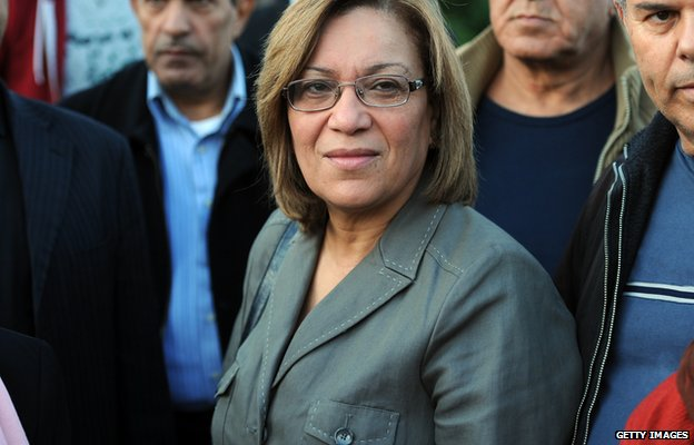 Candidate for Tunisian presidential elections Kalthoum Kannou